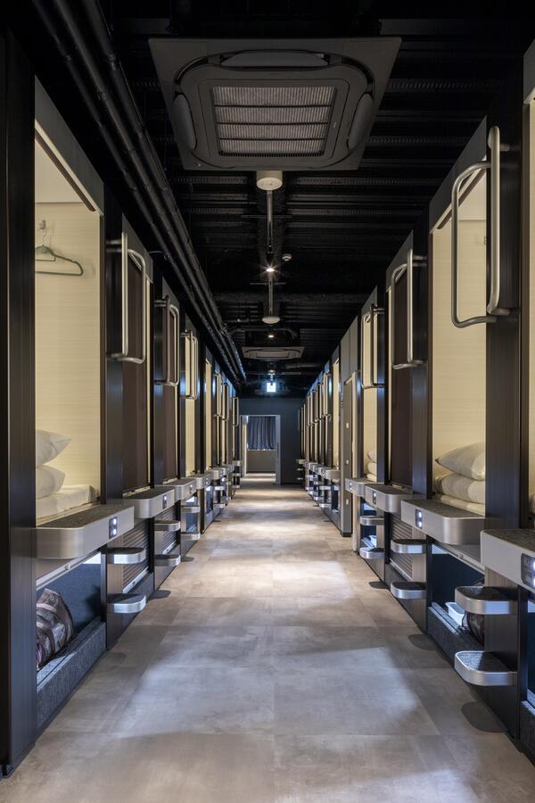 Hotel Kapsul Terbaik di Hiroshima